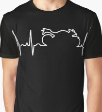 Motorcycle Life Line Graphic T-Shirt
