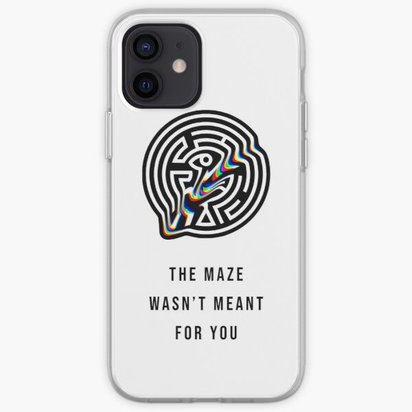 """Westworld - """"The Maze Wasn't Meant For You"""" iPhone Soft Case"""