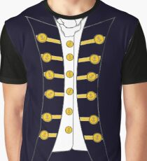 Napoleonic Captain RN Instant Cosplay Hornblower Graphic T-Shirt