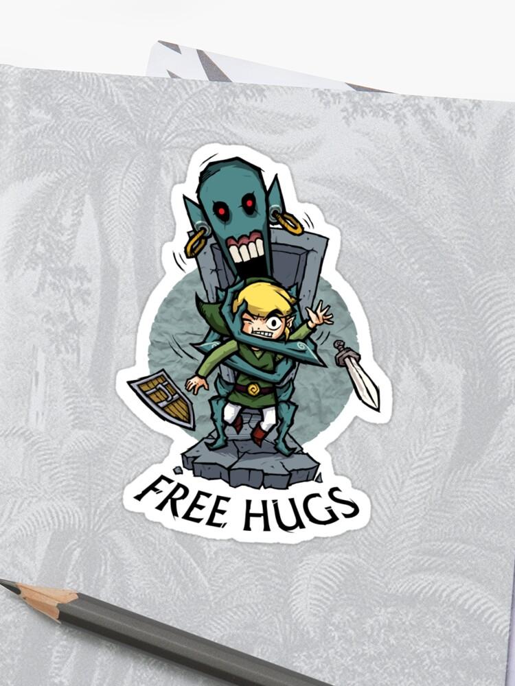 Zelda Wind Waker Free Hugs iphone case