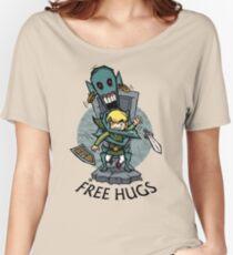 Zelda Wind Waker FREE HUGS  Women's Relaxed Fit T-Shirt