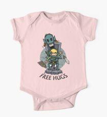 Zelda Wind Waker FREE HUGS  One Piece - Short Sleeve