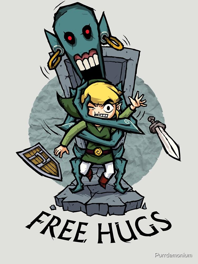 Zelda Wind Waker FREE Umarmungen von Purrdemonium