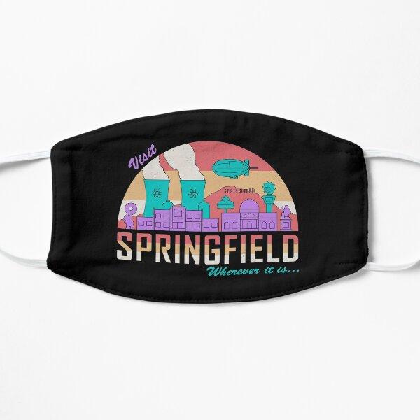 Visita Springfield Mascarilla plana