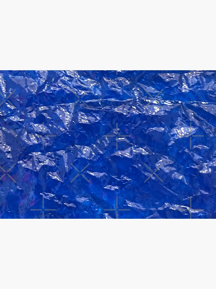 Blue, Wrinkled blue, Glass, House decor  by PicsByMi
