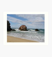 'Red Rock' North/East coast, New South Wales. Australia Art Print