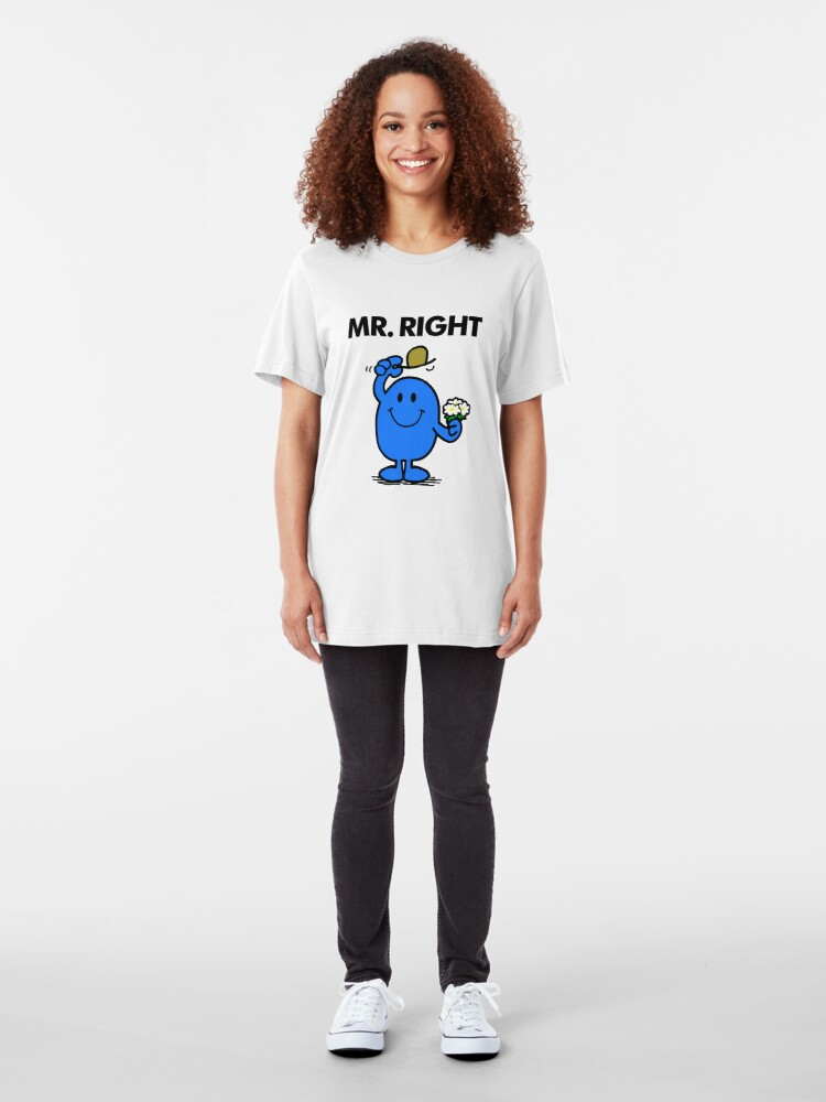 Alternate view of Mr Right Slim Fit T-Shirt
