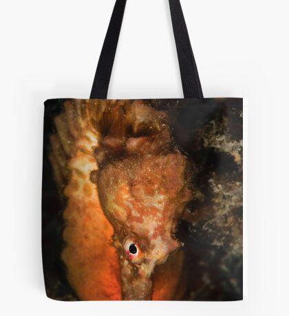 Big Bellied Seahorse Tote Bag