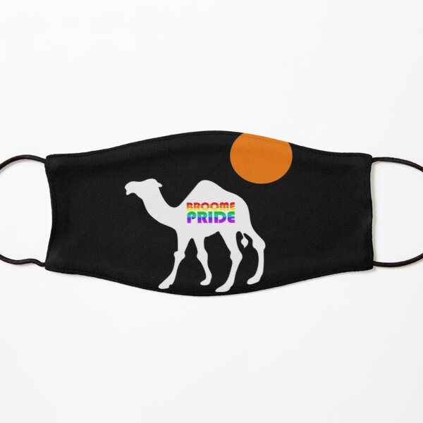 Broom Pride Safari - White Camel Kids Mask