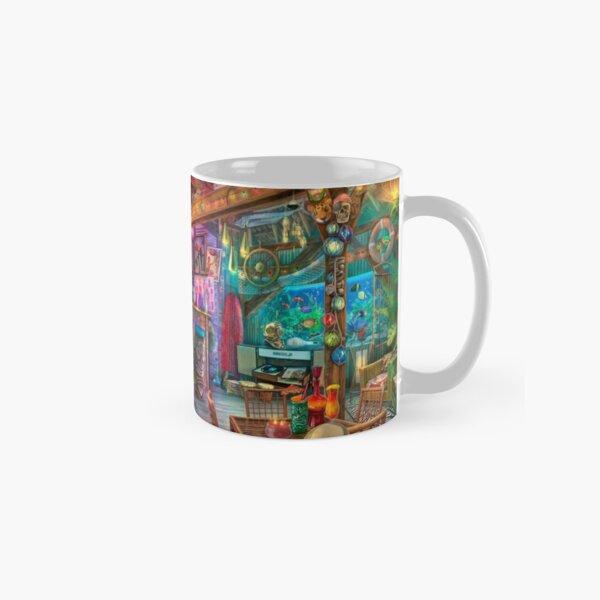 Tiki Beach Sunset Classic Mug