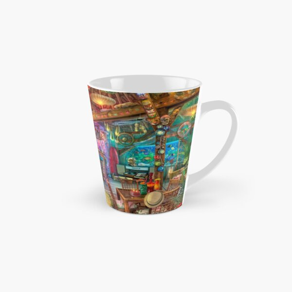 Tiki Beach Sunset Tall Mug