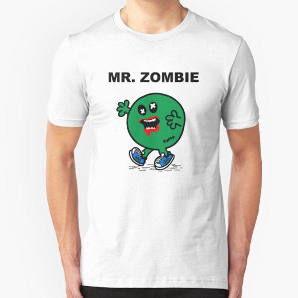 Mr Zombie Slim Fit T-Shirt
