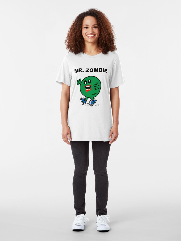 Alternate view of Mr Zombie Slim Fit T-Shirt