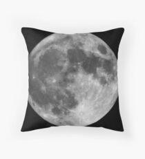 The Super Moon Throw Pillow