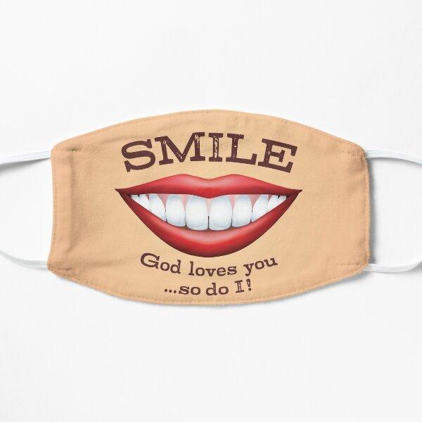 Smile! Flat Mask