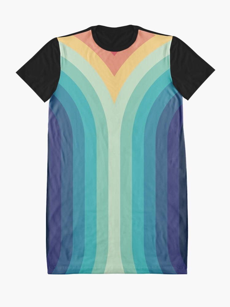 Alternate view of Retro Smooth 001 Graphic T-Shirt Dress