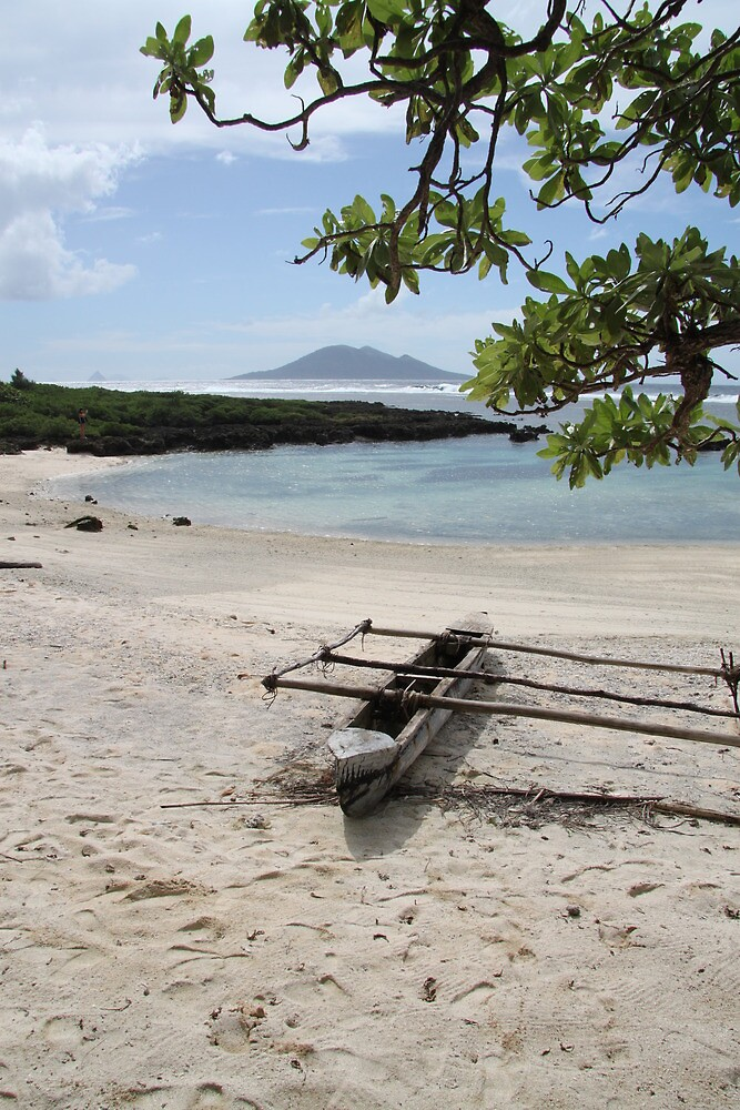 Vanuatu Canoe by William Goschnick