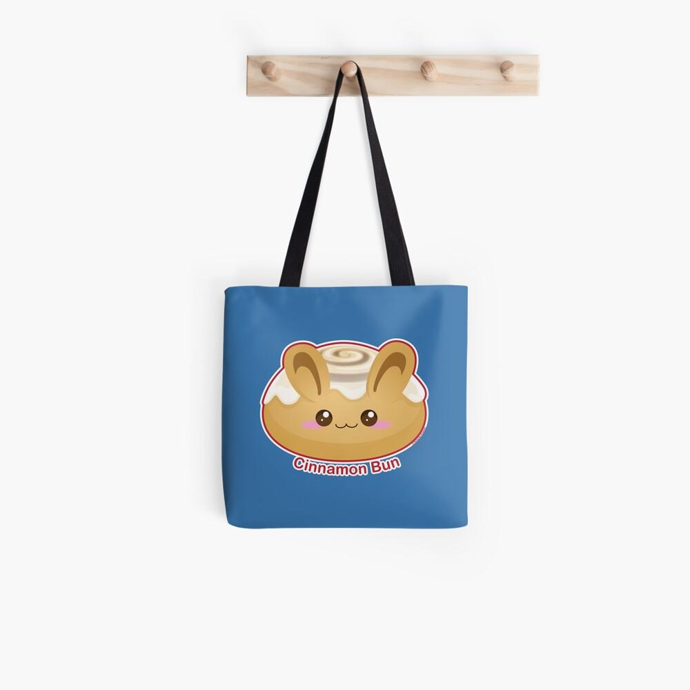 Punny Buns: Cute Cinnamon Bun Tote Bag
