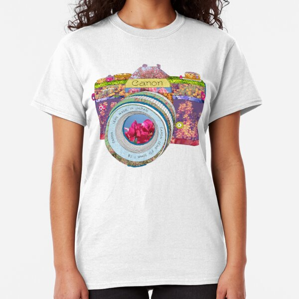 FLORAL CAN0N Classic T-Shirt