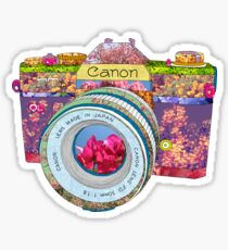 FLORAL CAN0N Sticker