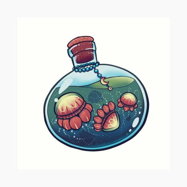 The Jelly Potion Art Print