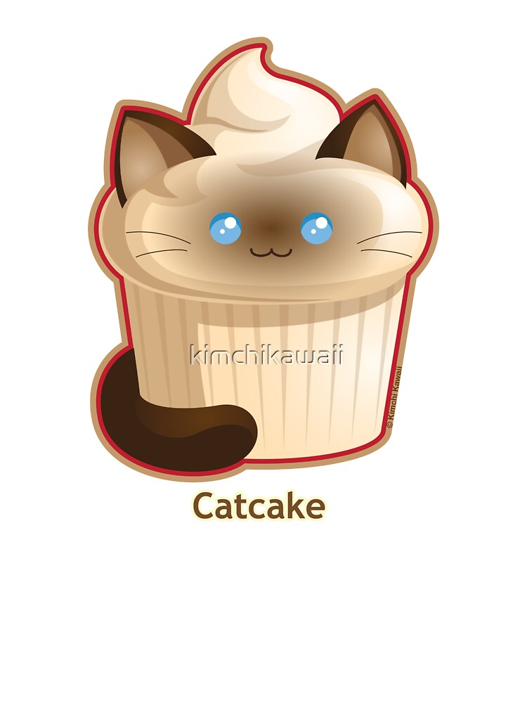 Adorable Kawaii Cat Cupcake Kids  Girls Hoodie