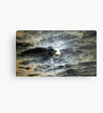The Super Moon from here 2 Metal Print