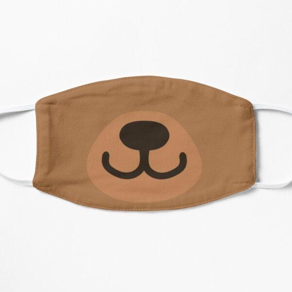 Cute Blushing Bear Mask