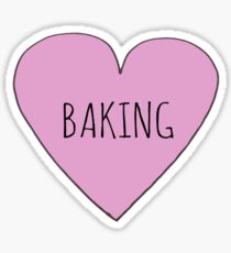 Baking Love Sticker