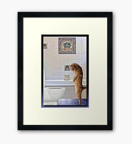 Your Kiddng... Right? Framed Print