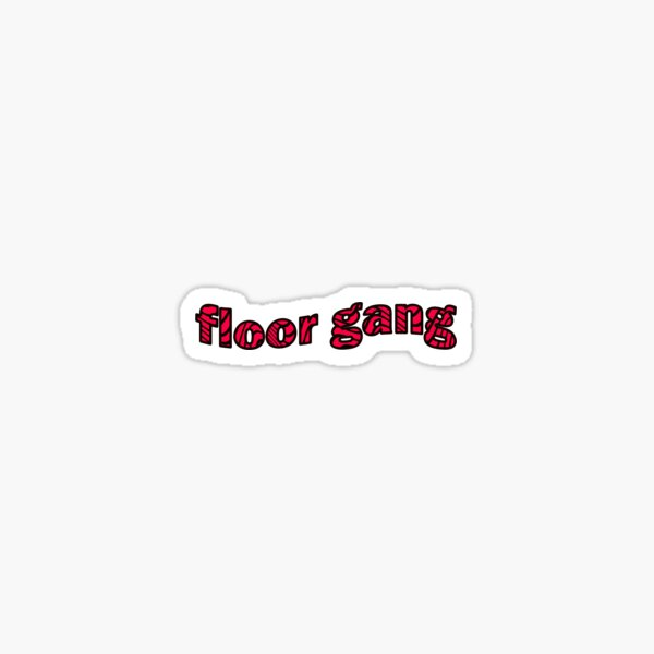 Floor Gang Pewdiepie Sticker Sticker