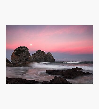 Moonrise over Camel Rock Photographic Print