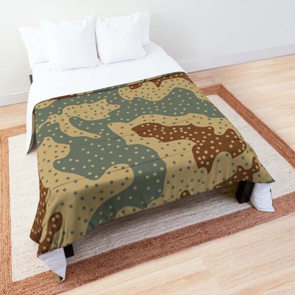 Panther Ambush Camouflage  Comforter