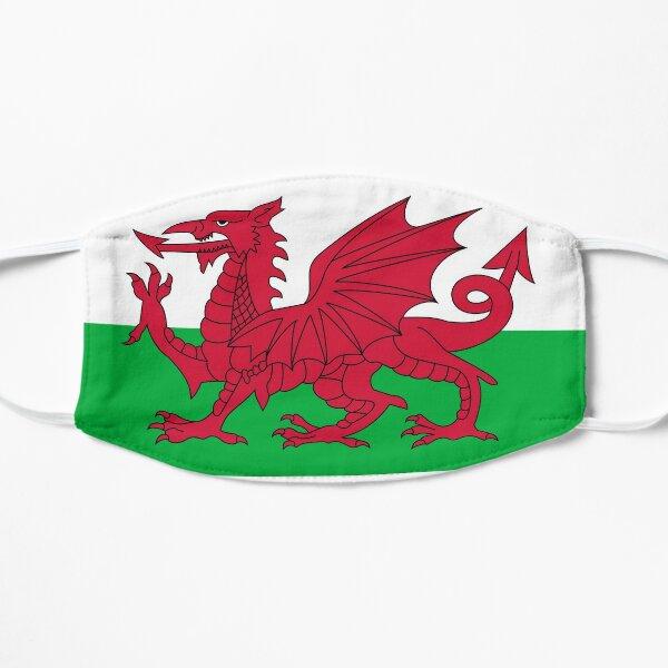 Wales Flag Flat Mask