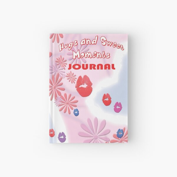 Hugs and Sweet Moments JOURNAL Design Hardcover Journal