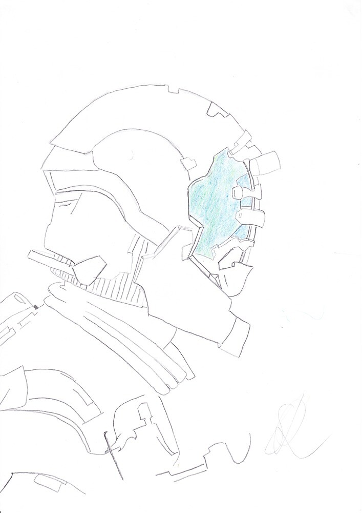 Isaac Clark - Sketch by Gorknex