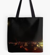 Full Moon over Glasgow Cathedral Tote Bag