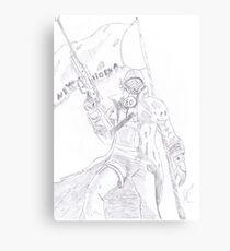 NCR Ranger Veteran Sketch Canvas Print