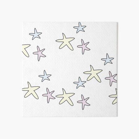 lovely stars Art Board Print