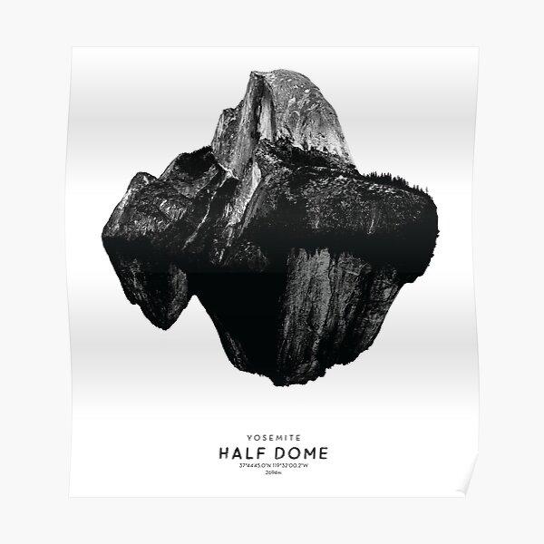 Half Dome - Yosemite National Park California America Poster