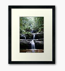 Terrace Falls, 2005 Framed Print