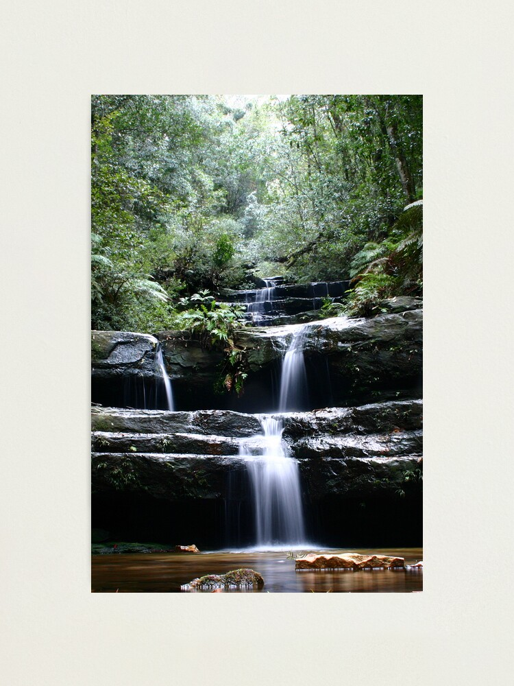 Alternate view of Terrace Falls, 2005 Photographic Print