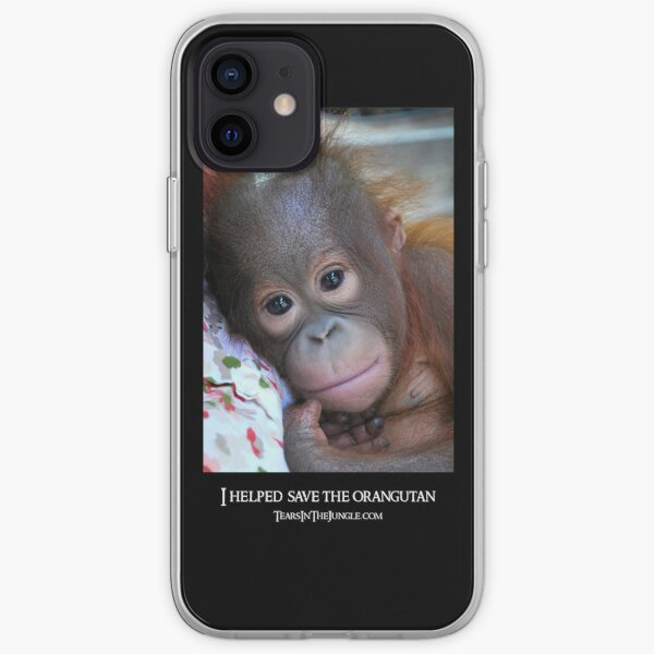 Tears In The Jungle iPhone Cover iPhone Soft Case
