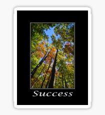 Success Inspirational Art Sticker