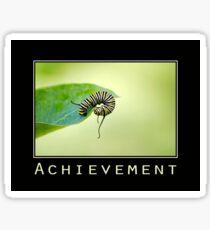 Achievement Inspirational Art Sticker