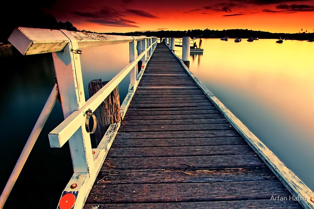 Donnelly Jetty Sunset by Arfan Habib