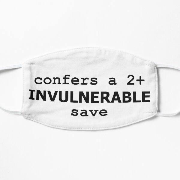 Confère une sauvegarde invulnérable de 2+ Masque sans plis