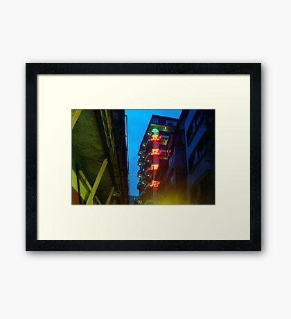 hotel east asia Framed Print