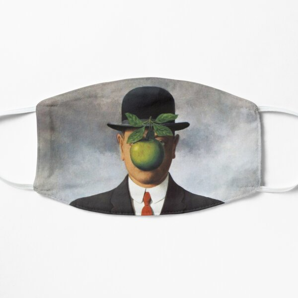 René Magritte - The Son of Man Flat Mask