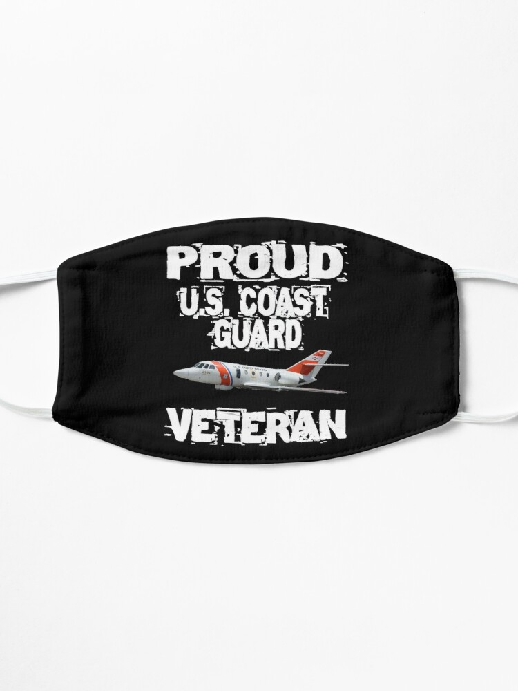 Alternate view of Proud U.S. Coast Guard Veteran Falcon Mask